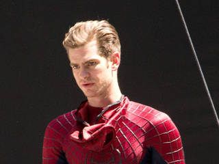 Andrew Garfield spent day at Disneyland with...