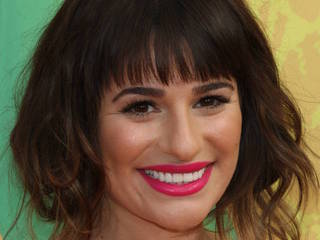 Lea Michele suffers nipple slip during video...