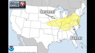 VIDEO: Severe weather to move across the country