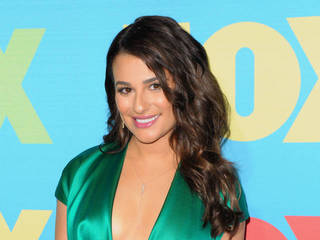 Lea Michele to play single mom in biker drama