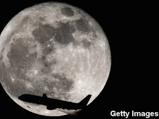 Study: Moon was deformed early in its history