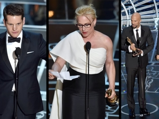 Oscars speeches filled with political activism