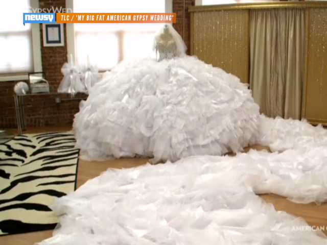 Best Wedding Gown Designers In The World: See The Huge Dress That Made 'Big Fat Gypsy Wedding