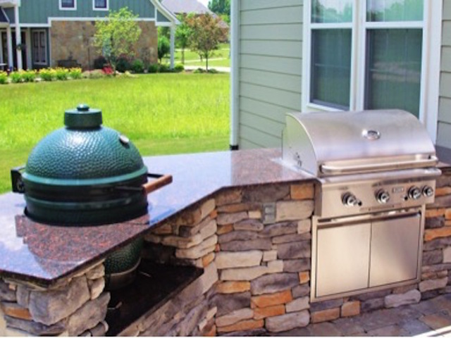 How much does an outdoor kitchen cost denver7 for How much does it cost to build an outdoor kitchen