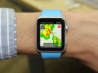 View live weather radar on wrist via Apple Watch