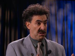 Borat blasts Donald Trump on 'Jimmy Kimmel Live'
