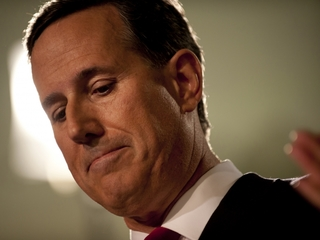 Santorum admits his campaign may be ending soon