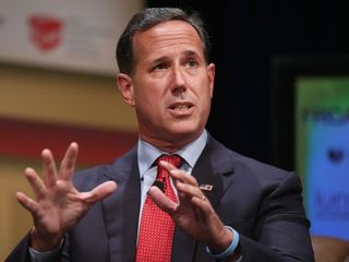 Rick Santorum drops out of presidential race