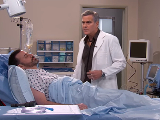 Watch: Kimmel attempts 'E.R.' Clooney reunion