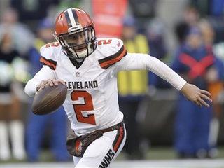 Browns waive Johnny Manziel