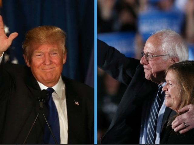 Donald Trump And Bernie Sanders Take New Hampshire Primaries
