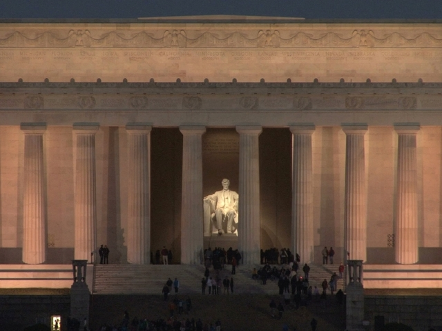Lincoln Memorial Defaced with Explicit Graffiti