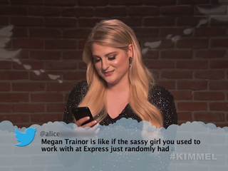 Trainor, Mumford, Wiz and more read mean tweets