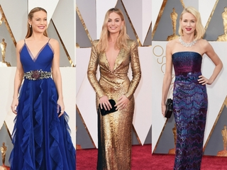 The best looks from the Oscar red carpet