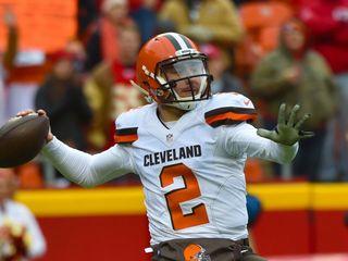 Cleveland Browns release Johnny Manziel
