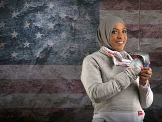 Olympic fencer asked to remove her hijab at SXSW