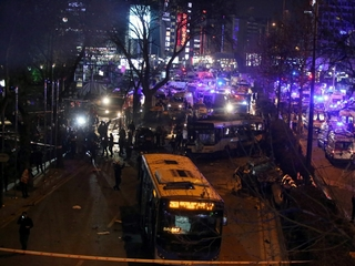 Explosion kills dozens in Ankara, Turkey