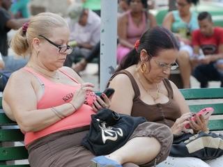 In Cuba, internet access isn't cheap or easy