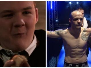Goyle from 'Harry Potter' debuts as MMA fighter