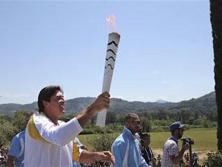 Torch begins 3-month relay through Brazil