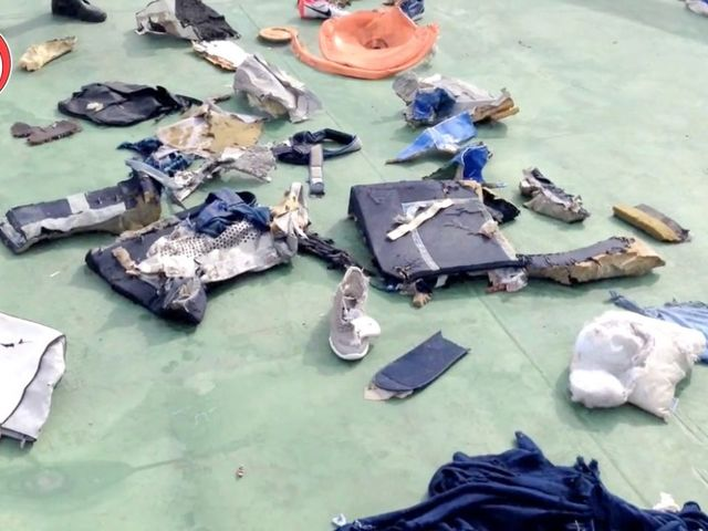 New Evidence Suggests An Explosion Downed EgyptAir Flight 804