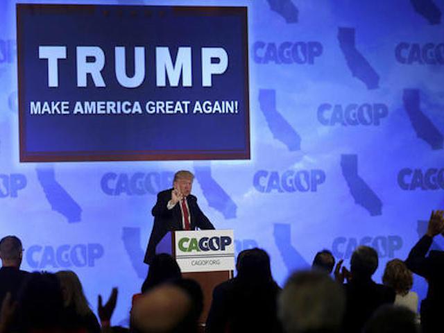 AP count: Trump reaches delegate goal