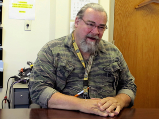 Military veteran finds a mission working at VA
