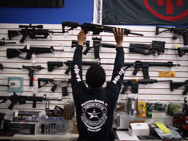 Filibuster brings possible gun vote