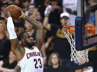 LeBron James and the Cavs play Game 7 in Oakland