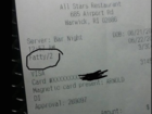 Server fired for calling customer 'fatty'