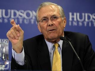Donald Rumsfeld says he'll vote for Donald Trump
