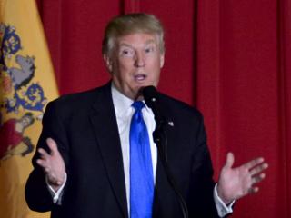 Trump spoke at summit in Denver today