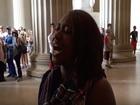 Woman's song at Lincoln Memorial goes viral