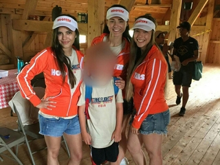 Hooters sponsors a Cub Scouts camp
