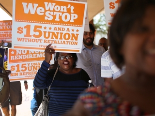 Democrats to support $15 minimum wage