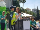 6-year-old gets to be a garbage man for a day