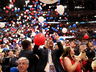 Poll numbers increase after conventions