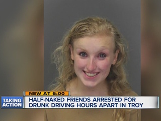 Drunk driver goes to pick up drunk friends at PD