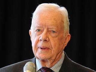 President Carter says Clinton, Trump 'unpopular'