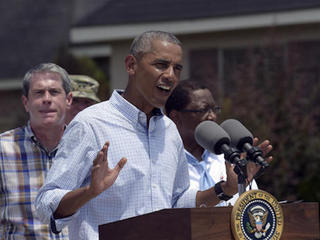 PHOTOS: Obama visits Lousiana