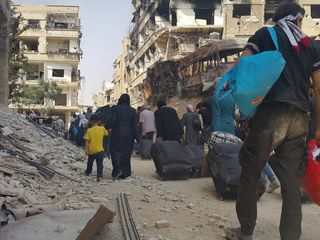 Daraya siege comes to an end after 4 years