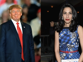 Trump alludes to theory about Huma Abedin