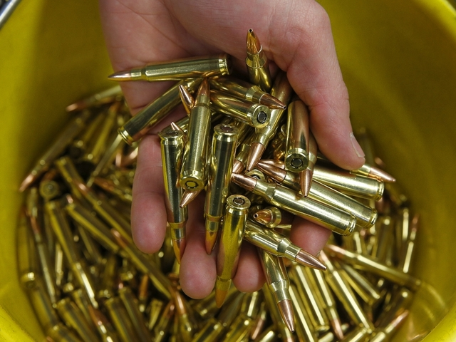 Lawmakers want serial numbers on bullets