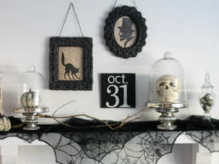 10 chic DIY Halloween decorations
