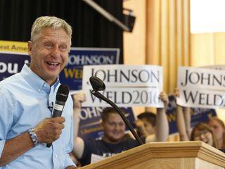 2016 will be Johnson's last presidential bid