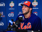 First professional hit is homer for Tim Tebow