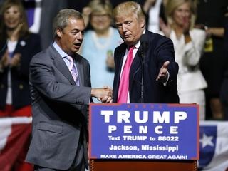 UK's Farage joins Trump campaign for debate prep