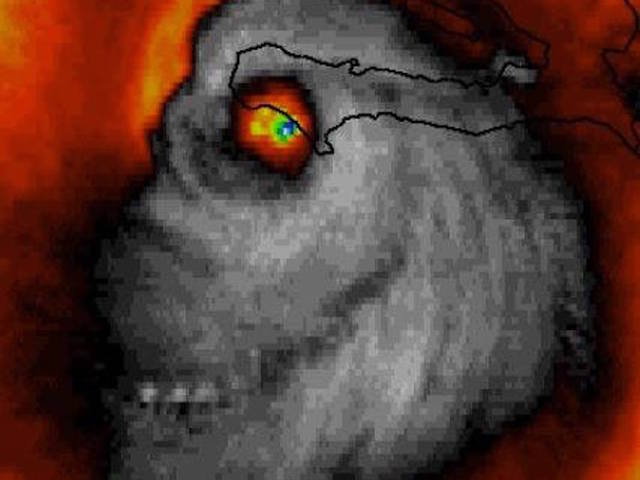 Hurricane approaching Bahamas, Florida on alert