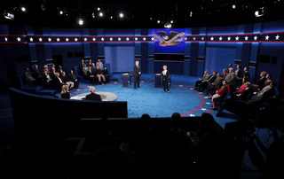 PHOTOS: Second presidential debate
