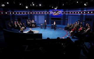 PHOTOS: Second presidential debate